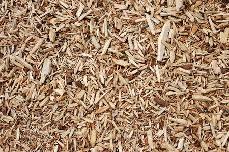 bark mulch: high angle view of mulch background in garden