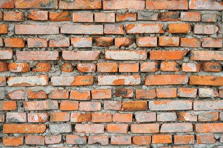 Grunge old brick wall background