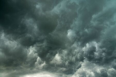 dark storm cloud as nature background