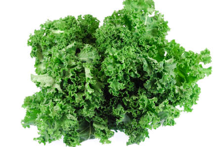 close up on fresh green lettuce texture Stok Fotoğraf
