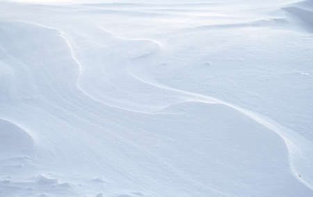 snow drift covered ground texture with shadows