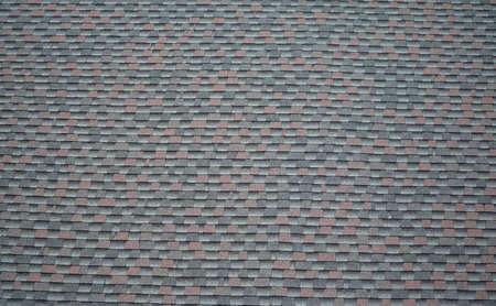 close up on roof shingle background