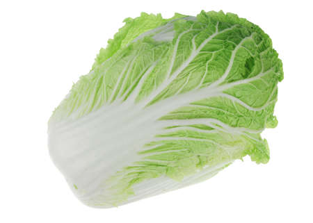 fresh Chinese cabbage isolated on white background