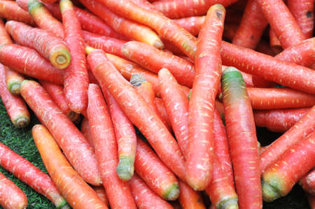 fresh carrot as food background 免版税图像