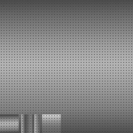 titanium: Metal Background. Set of 3 metal backgrounds. Vector illustation