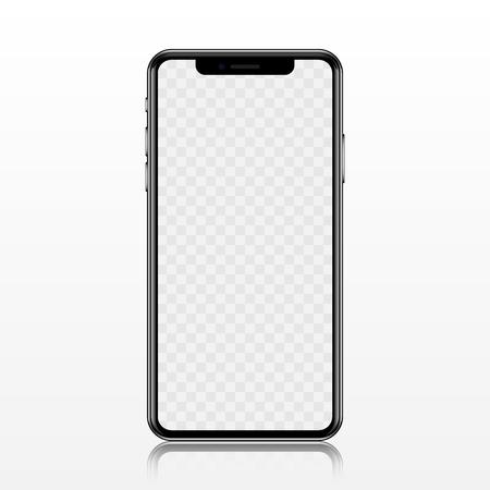 새 전화 정면 그림 형식.