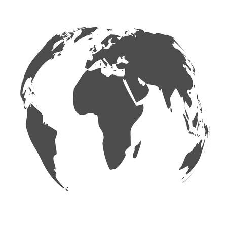 Map of the world. Vector illustration. Illustration