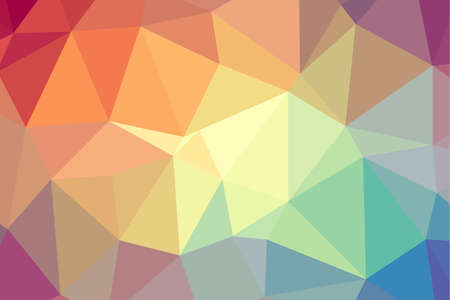 Abstract geometric rumpled triangula background low poly style. Vector illustration graphic background. 일러스트