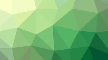 Abstract geometric Green rumpled triangula background low poly style. Vector illustration graphic background.