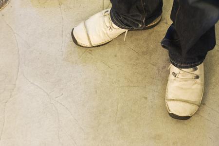 vocational high school: Feet of Man