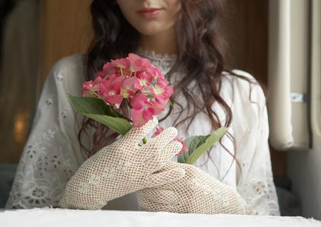 Bride and Hydrangea