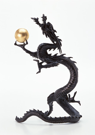 Ornament of dragon