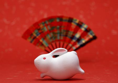Ornament of rabbit