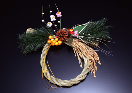 Decoration of straw rope LANG_EVOIMAGES