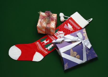 Present and socks