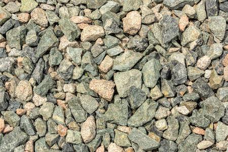 Mixture of natural rocks decorative texture background 版權商用圖片