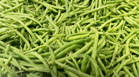 green been: Fresh green beans background pattern