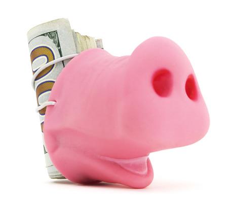 Pig Snout With Cash