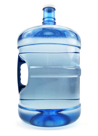 Isolated Five Water Gallon Bottle