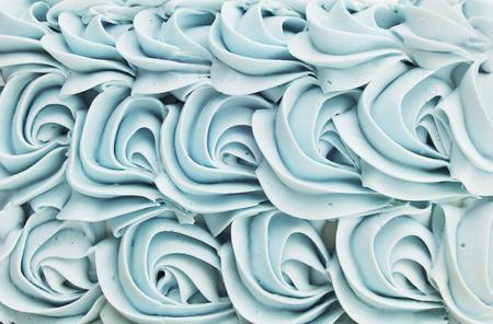 Cake Icing Floral Swirl Background Banco de Imagens