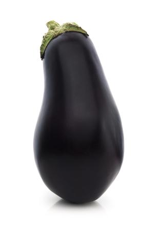 Isolated Eggplant