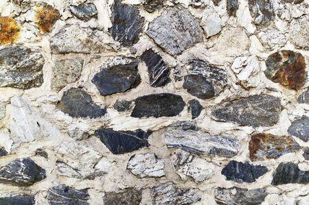 Stone rustic rock background pattern. Foto de archivo - 134827541