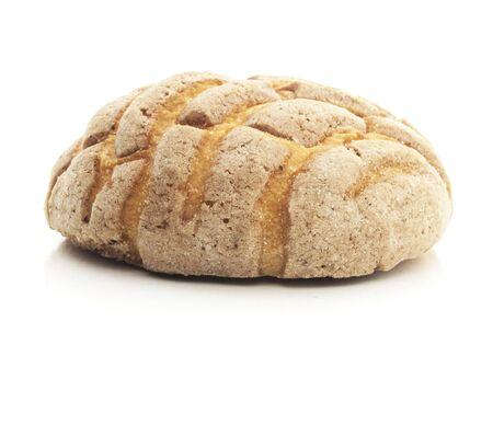 Isolated Chocolate Concha Bread