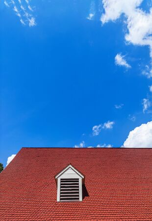 Dormer Home Window Roof Over Blue Sky