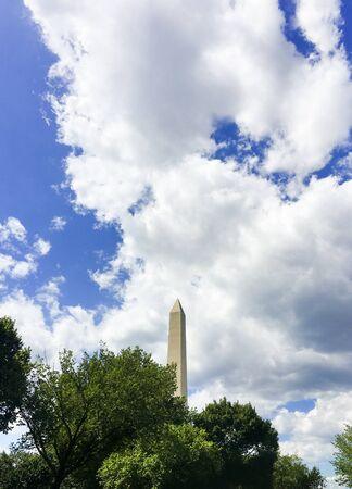 George Washington Memorial Monument Stock Photo