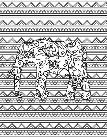 hand drawn coloring page Çizim