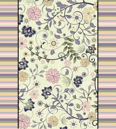 floral seamless pattern,  design