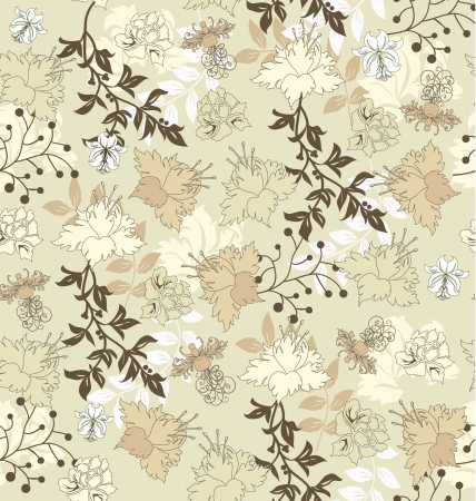 green carpet: floral seamless pattern,  design