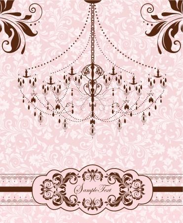 kahverengi: düğün davetiye