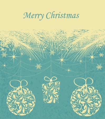 Christmas background Stock Vector - 16255535