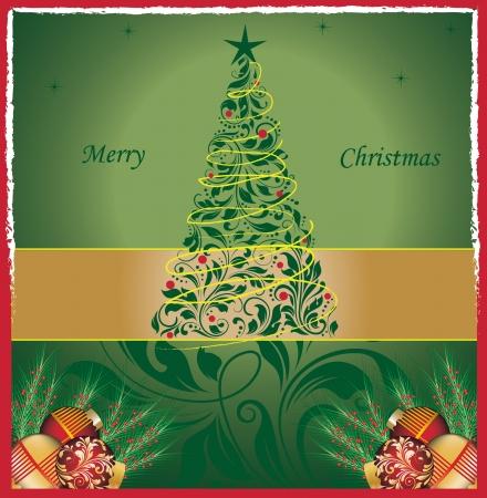 Christmas card Stock Vector - 16255501