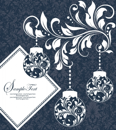 Weihnachten Zwiebeln auf blauem Hintergrund Standard-Bild - 16772089