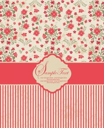 Printemps fond floral avec place pour le texte Banque d'images - 19314004