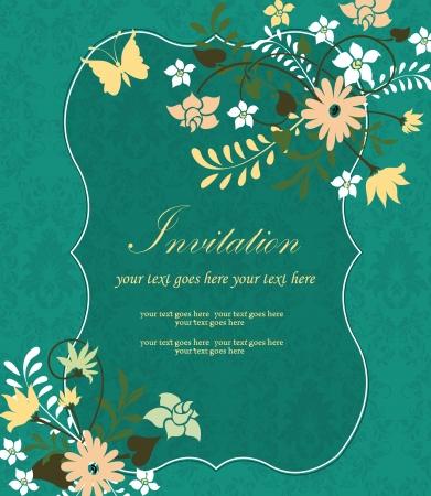Tarjeta De Invitación Reunión Familiar Ilustraciones