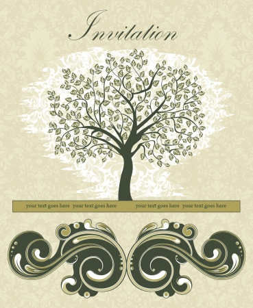 Family Reunion Invitation Card Royalty Free Cliparts Vectors And