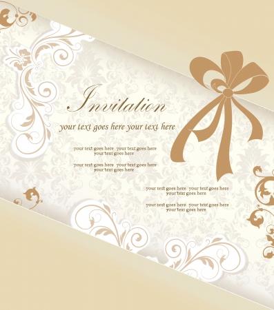 royal wedding: Elegant Wedding Invitation