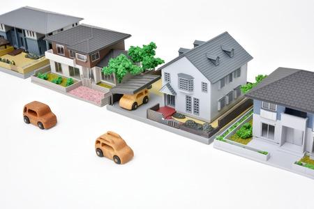 住宅地域木造車や小型住宅のイメージ