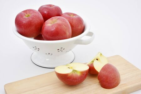 Red ripe apples 写真素材 - 132922123