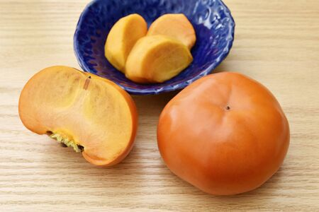 Fresh Ripe persimmon