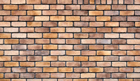 Old decorative brick wall background