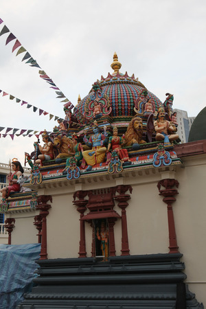 god's cow: Indian Temple