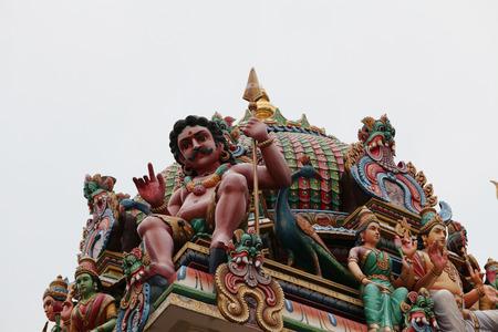 god's cow: Hindu Temple