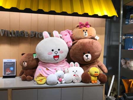 Line Village Bears