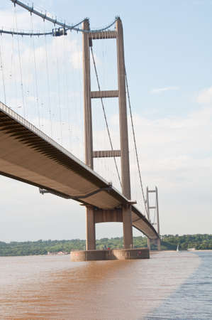 eyesore: Humber Bridge in summer