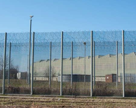 prison fence: Prison Fence Editorial
