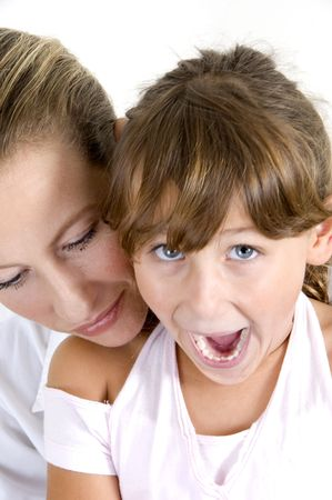 happy mother and daughter together Stock Photo - 3717834